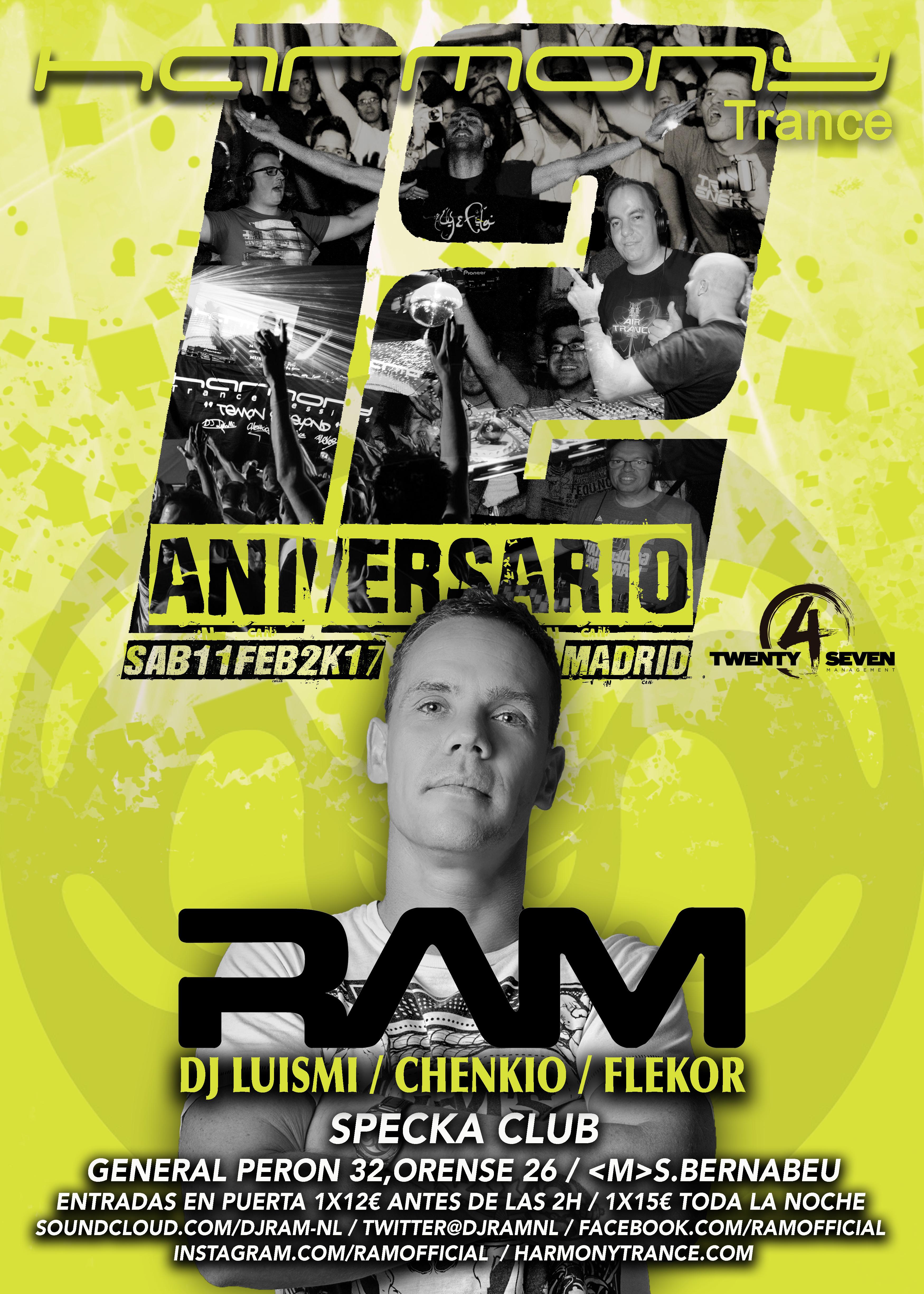 Harmony Trance 12 aniversario