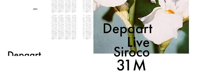 Depaart Live Sala Siroco 31 Marzo