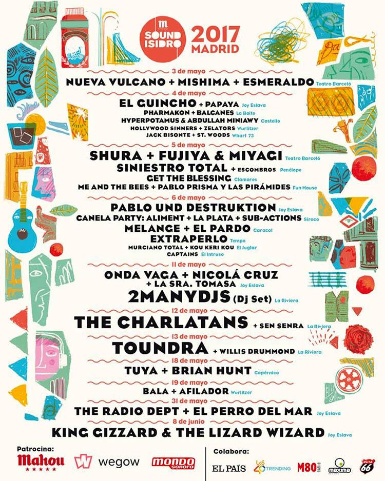 Sound Isidro 2017 cartel