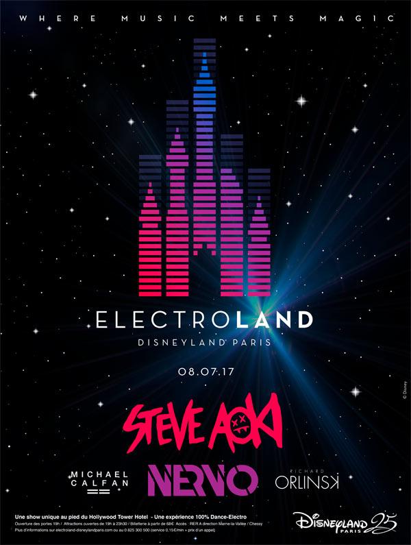 Disneyland París tendrá su propio festival EDM