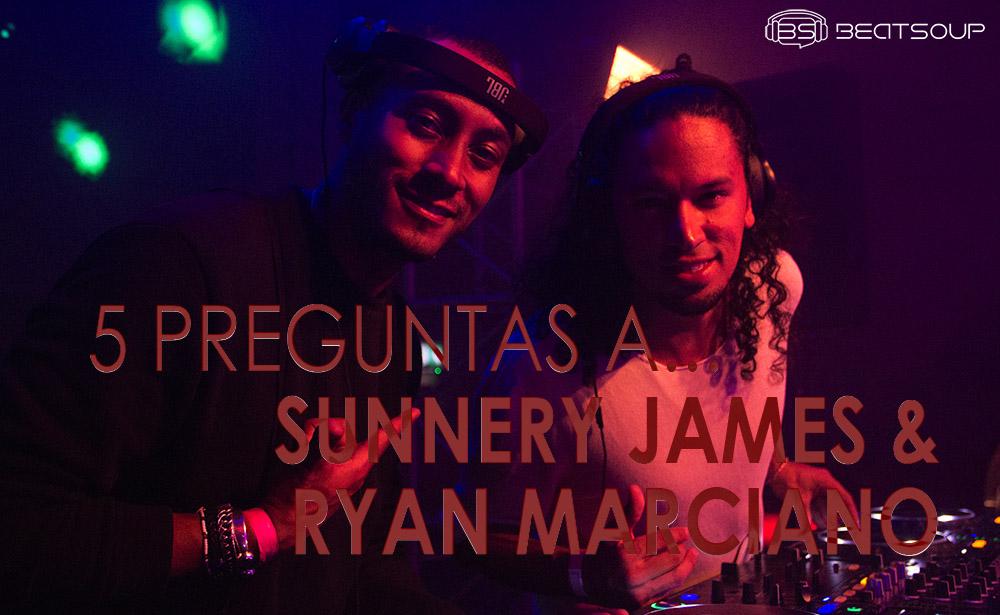 5 preguntas a... SUNNERY JAMES & RYAN MARCIANO