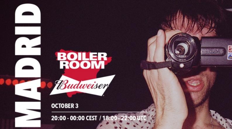 Vuelve Boiler Room a Madrid en Octubre, de la mano de Budweiser