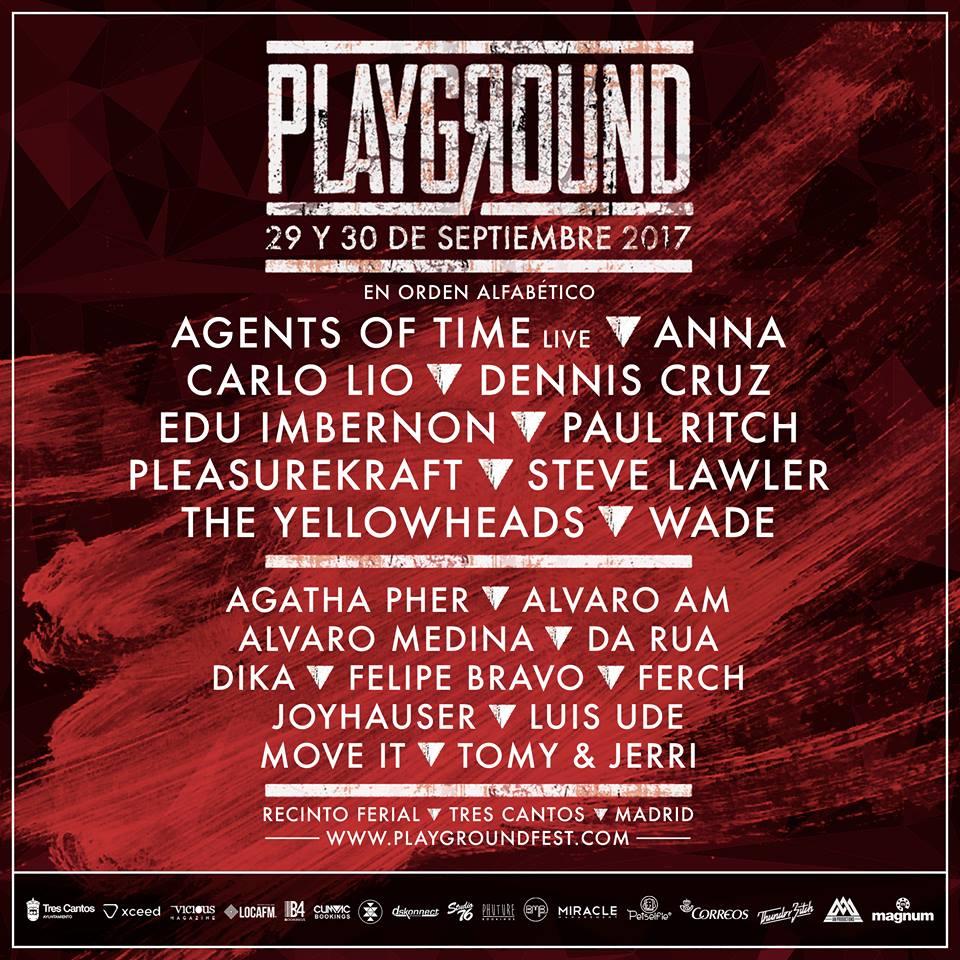 Playground Fest ultima los detalles de su segunda (y mayor) edición