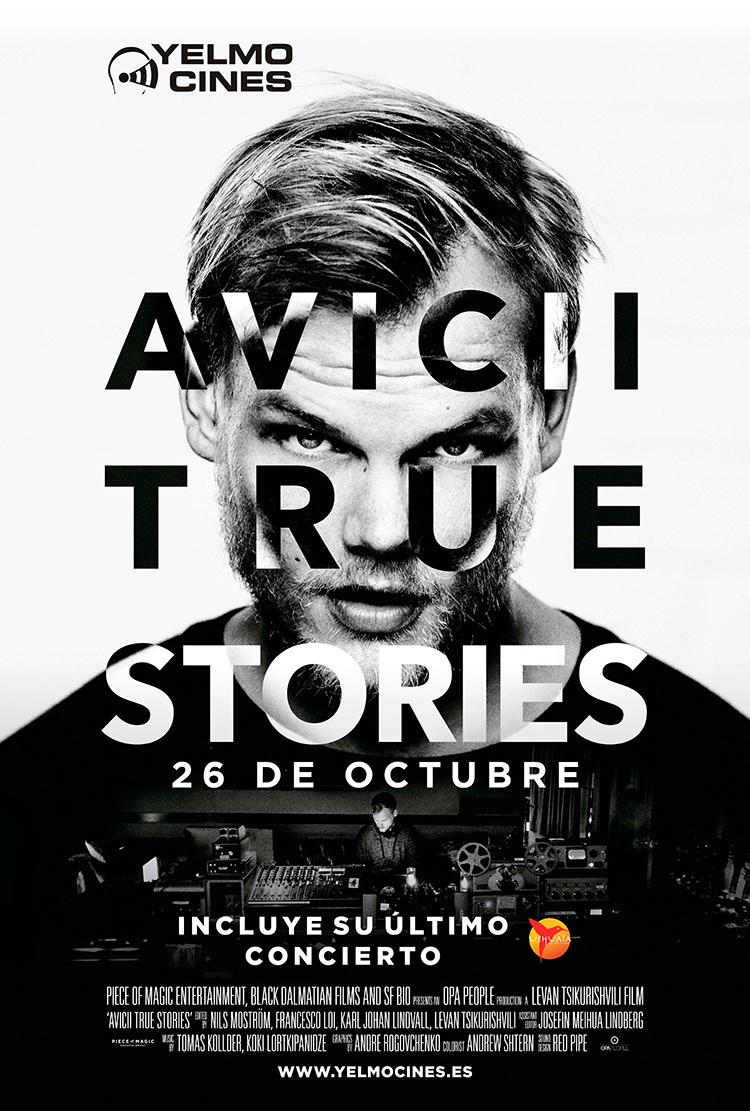 Yelmo Cines presenta en exclusiva el estreno mundial del documental sobre AVICII: 'TRUE STORIES'