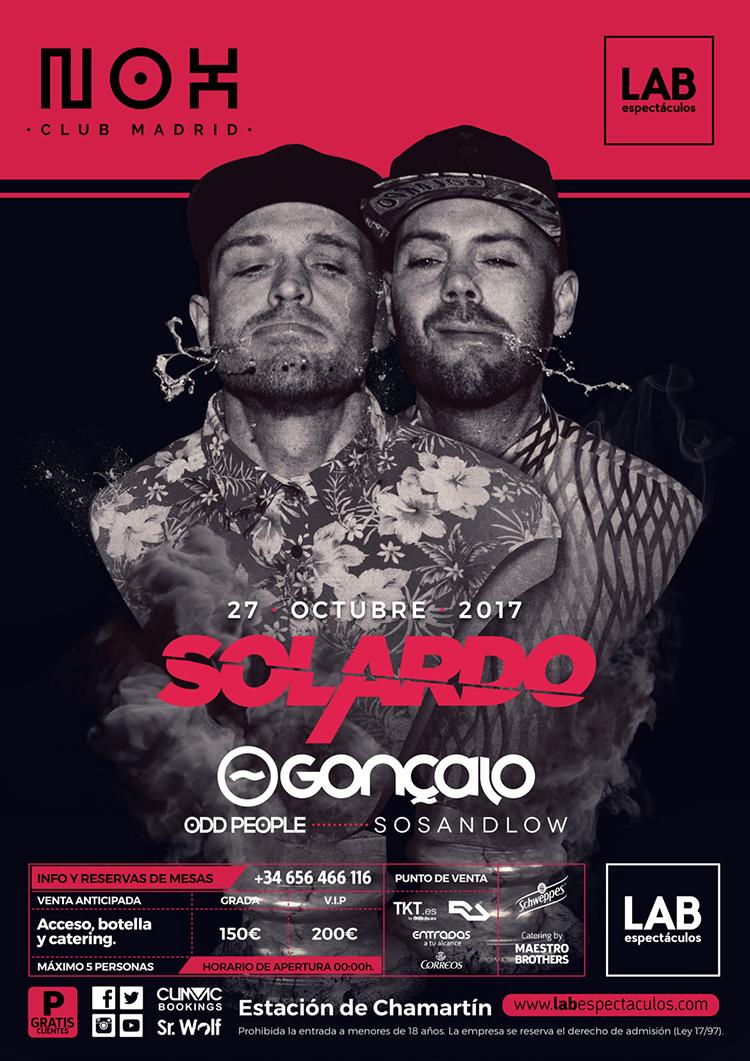 Nox recibe a los recientemente galardonados en los DJ Ibiza Awards, Solardo