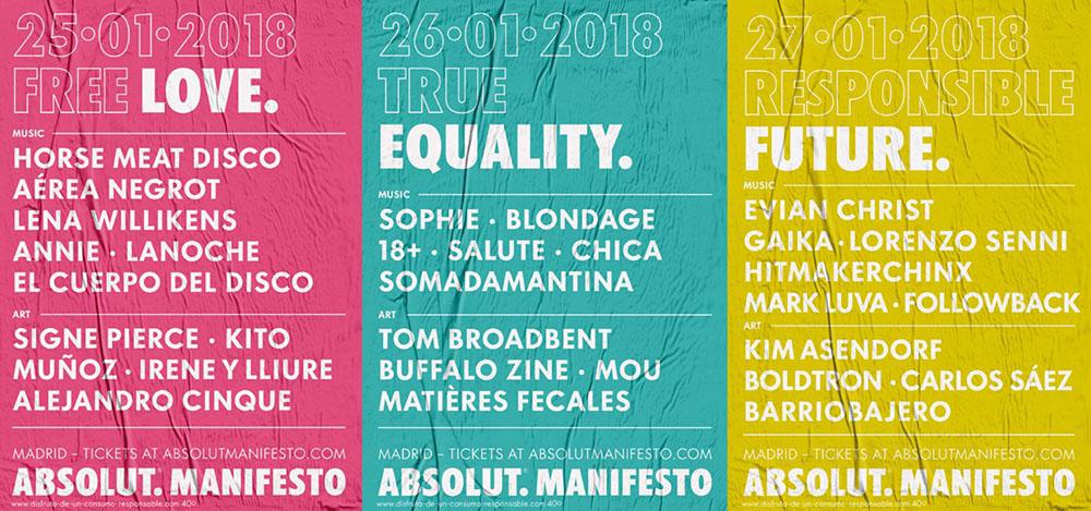 #AbsolutManifesto: arte, tecnología y electrónica por el progreso en Madrid