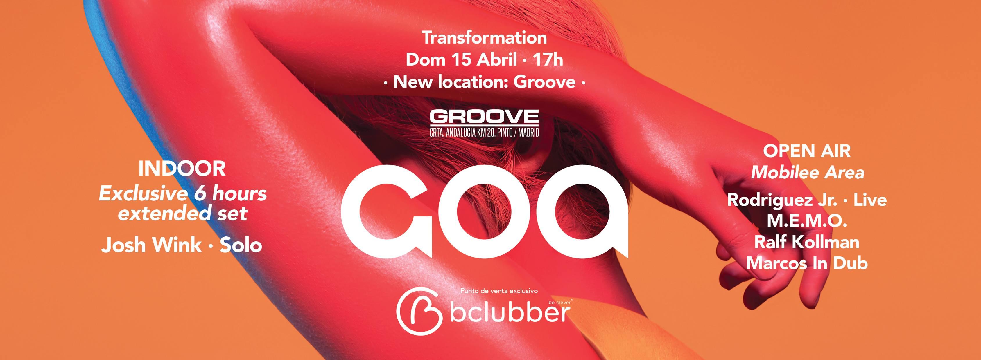 GOA regresa a la sala Groove por primavera