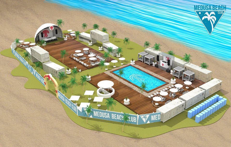 Medusa Beach Club anuncia su line up para el opening