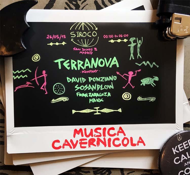 Musica Cavernicola trae a Terranova a Madrid