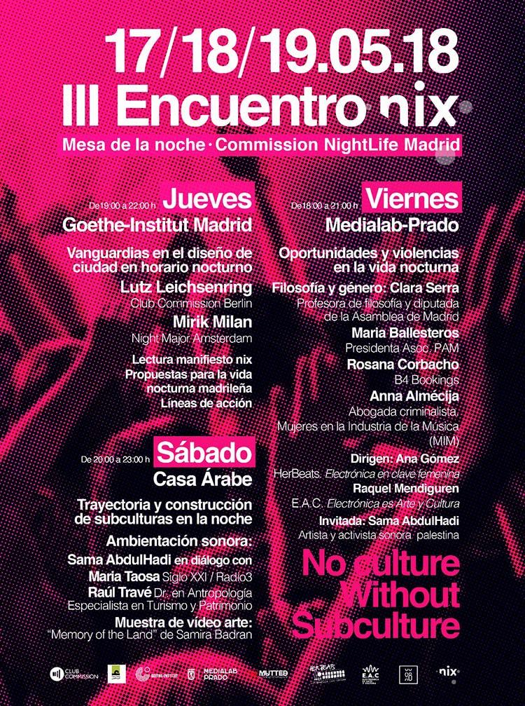 III Encuentro nix: porque no hay cultura sin subcultura