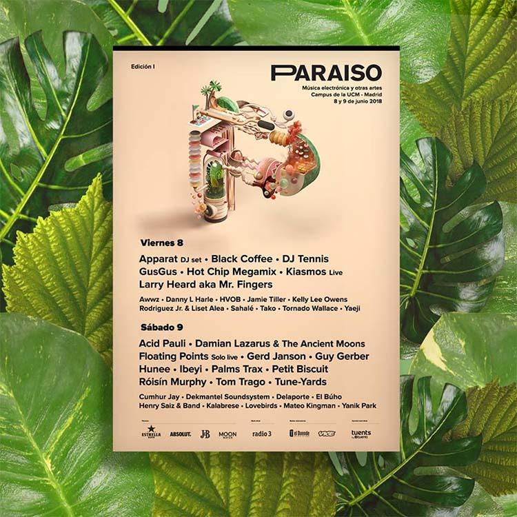 Paraíso Festival completa el gran cartel de su primera edición