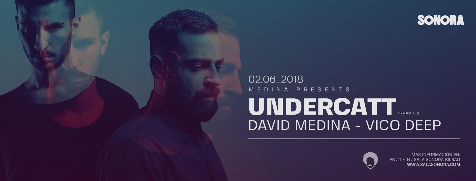 """Undercatt en la primera edición de """"Medina Presents"""", en Sala Sonora Bilbao."""