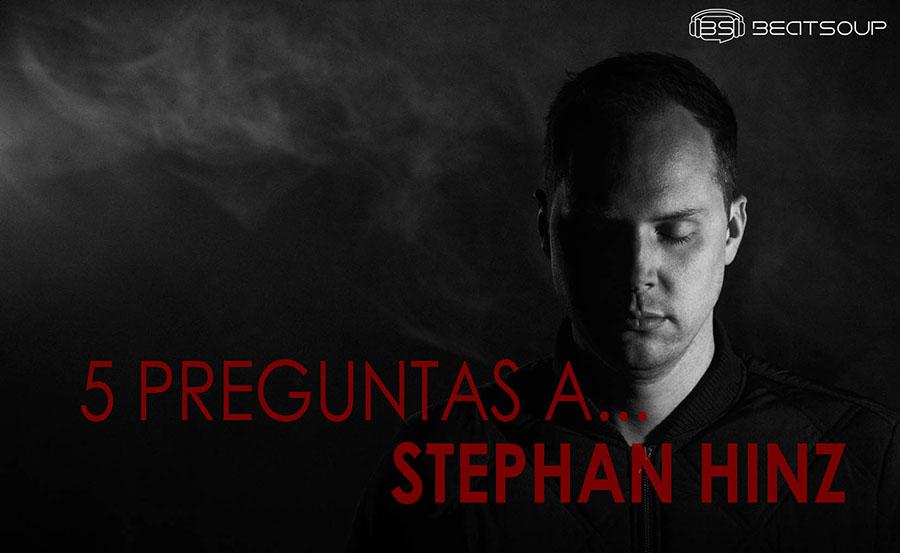 5 preguntas a... STEPHAN HINZ