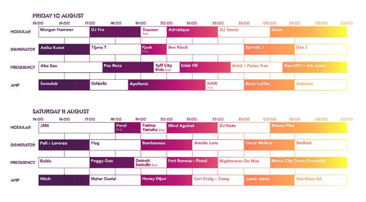 DGTL Barcelona desvela el horario de sus actuaciones