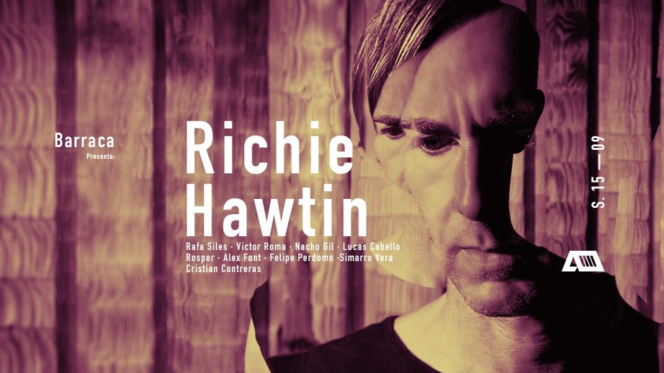 Richie Hawtin regresará a la sala Barraca de Valencia