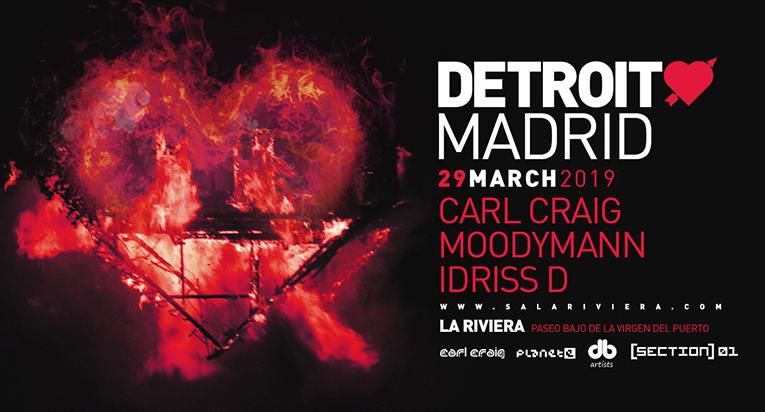El amor de Detroit llega a Madrid en marzo