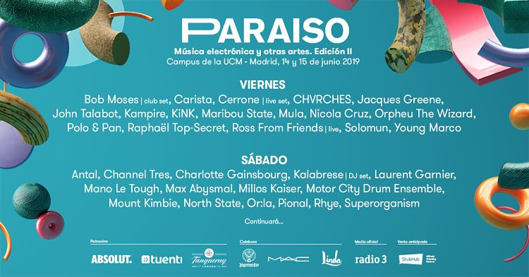 Paraíso Festival vuelve a inundar la capital de arte electrónico