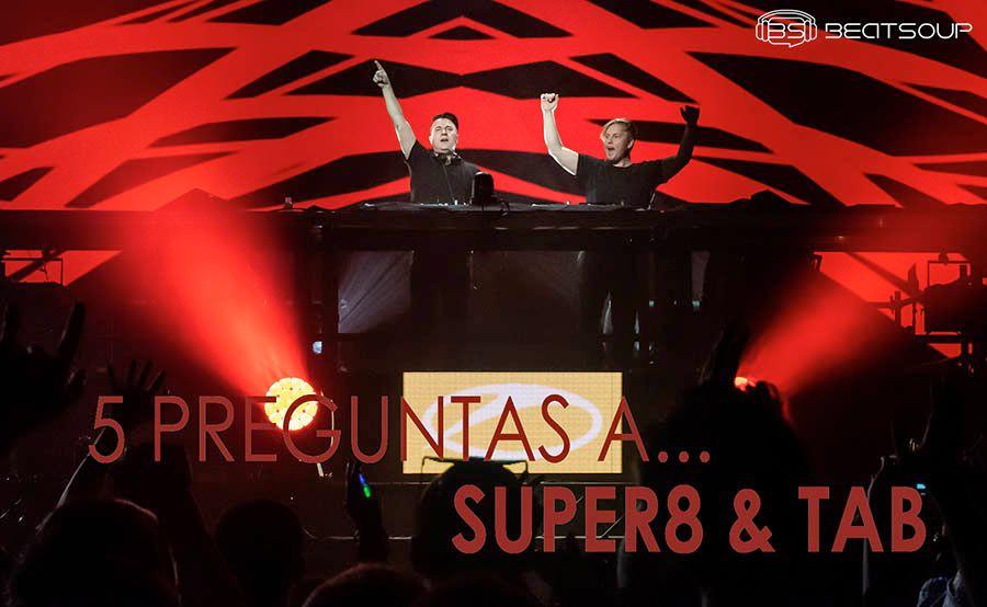 """SUPER8 & TAB: """"El trance puede ser lo que quieras siempre que mantengas la base"""""""