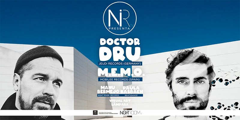 Night Room TV se pasa al formato festival con Doctor Dru y M.E.M.O.