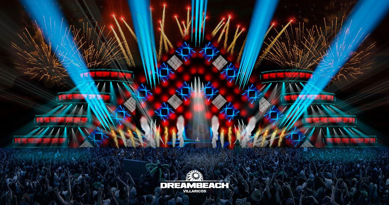 Así será el escenario principal de Dreambeach