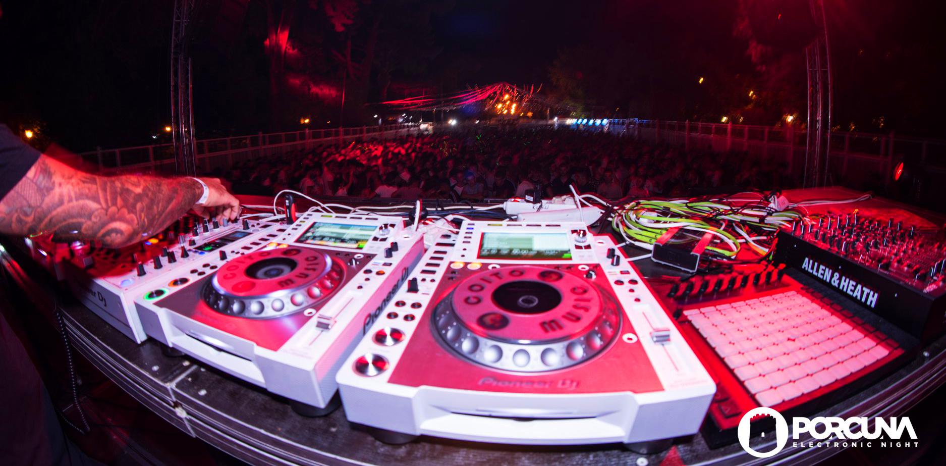 Primera confirmación de Porcuna Electronic Night para el V Aniversario