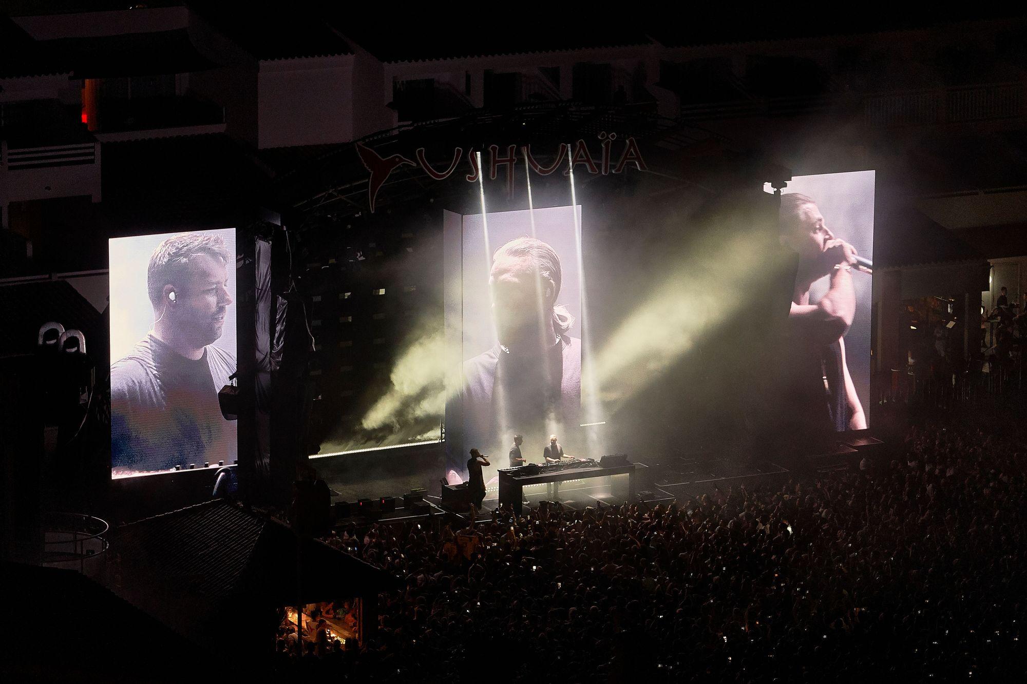 Sold-out en la visita de Swedish House Mafia en Ushuaïa Ibiza