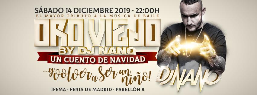 ORO VIEJO 2019 BY DJ NANO `UN CUENTO DE NAVIDAD´