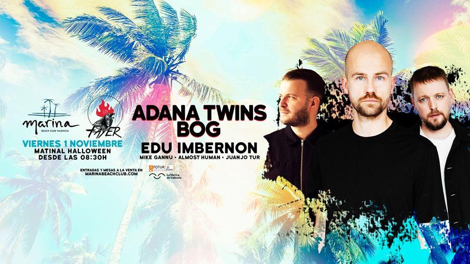Nuevo Matinal de Fayer con Adana Twins como invitados especiales