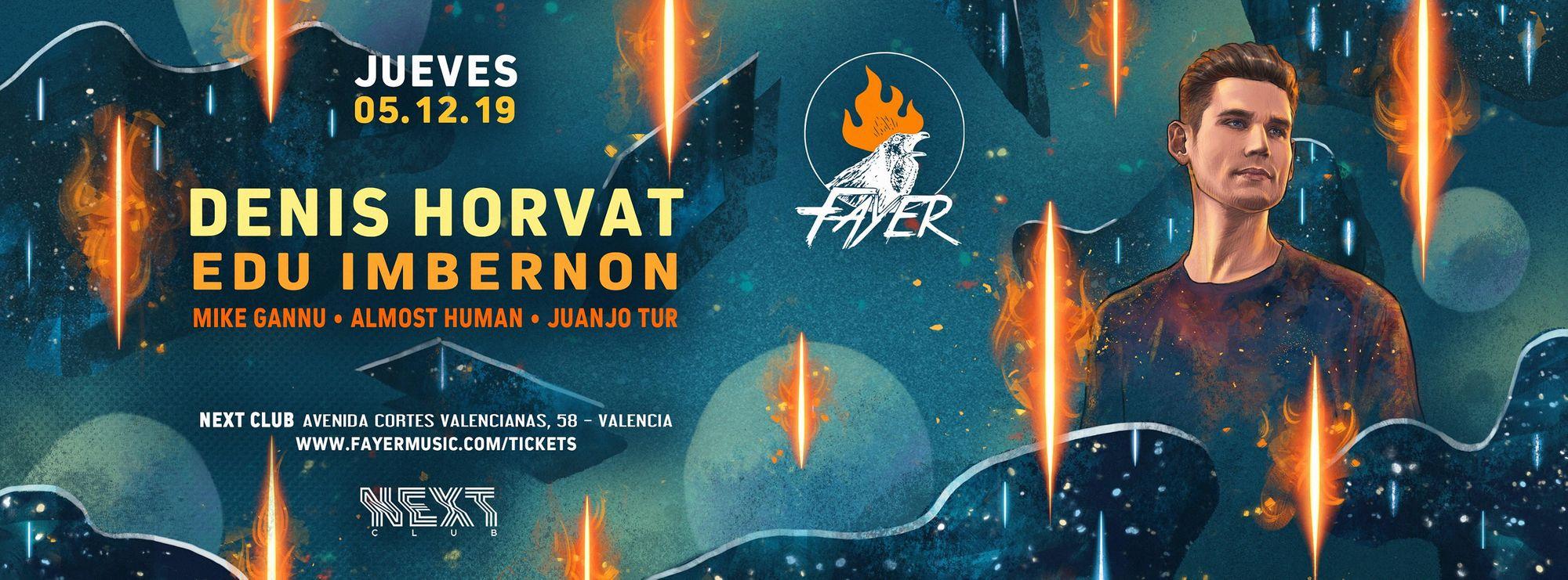 Denis Horvat próximo invitado en una nueva edición de Fayer
