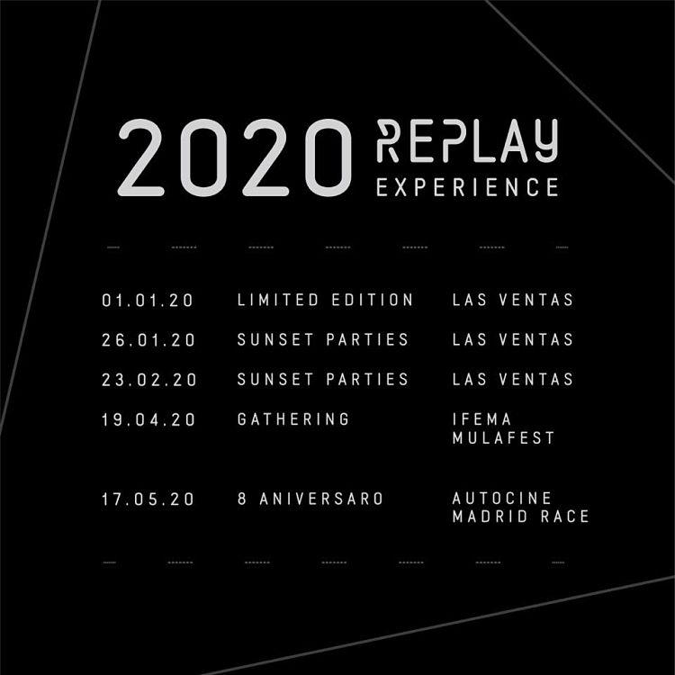 REPLAY extiende fronteras para su programación de 2020