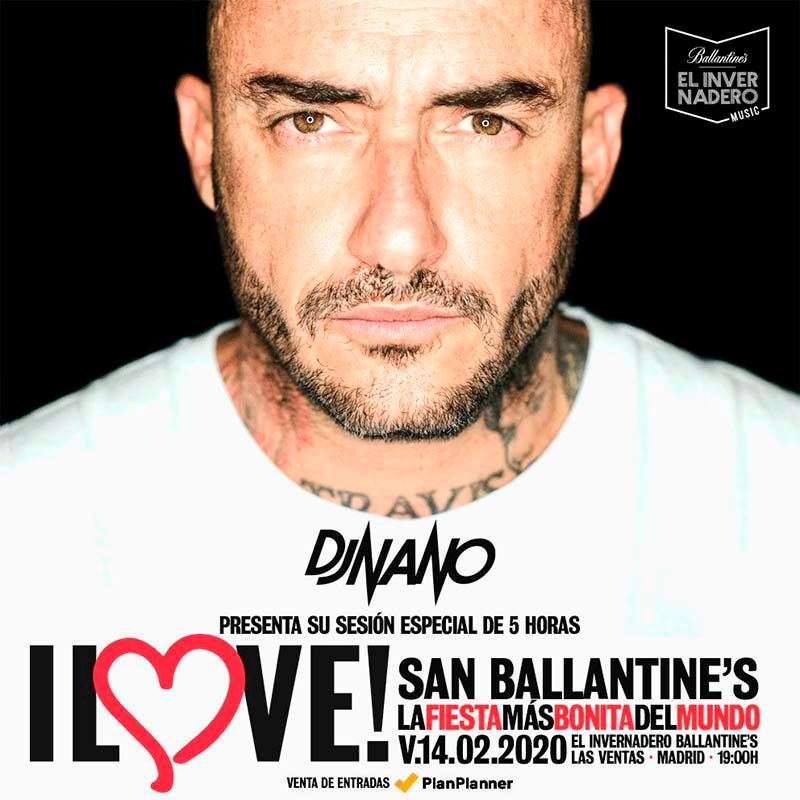 Dj Nano celebra San Valentín con I Love!