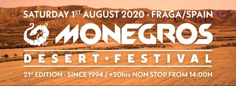 Monegros Desert Festival desvela más del 50% de su cartel