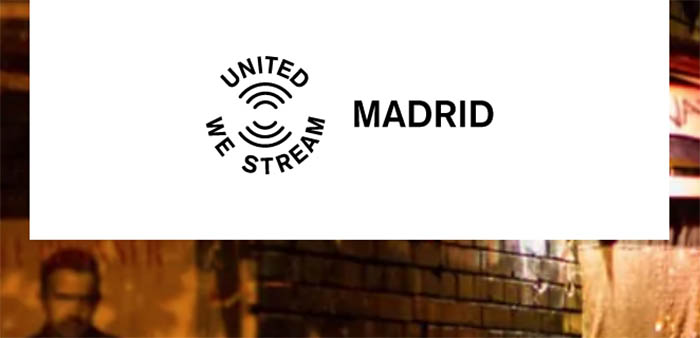 United We Stream desembarca en Madrid de la mano de NIX