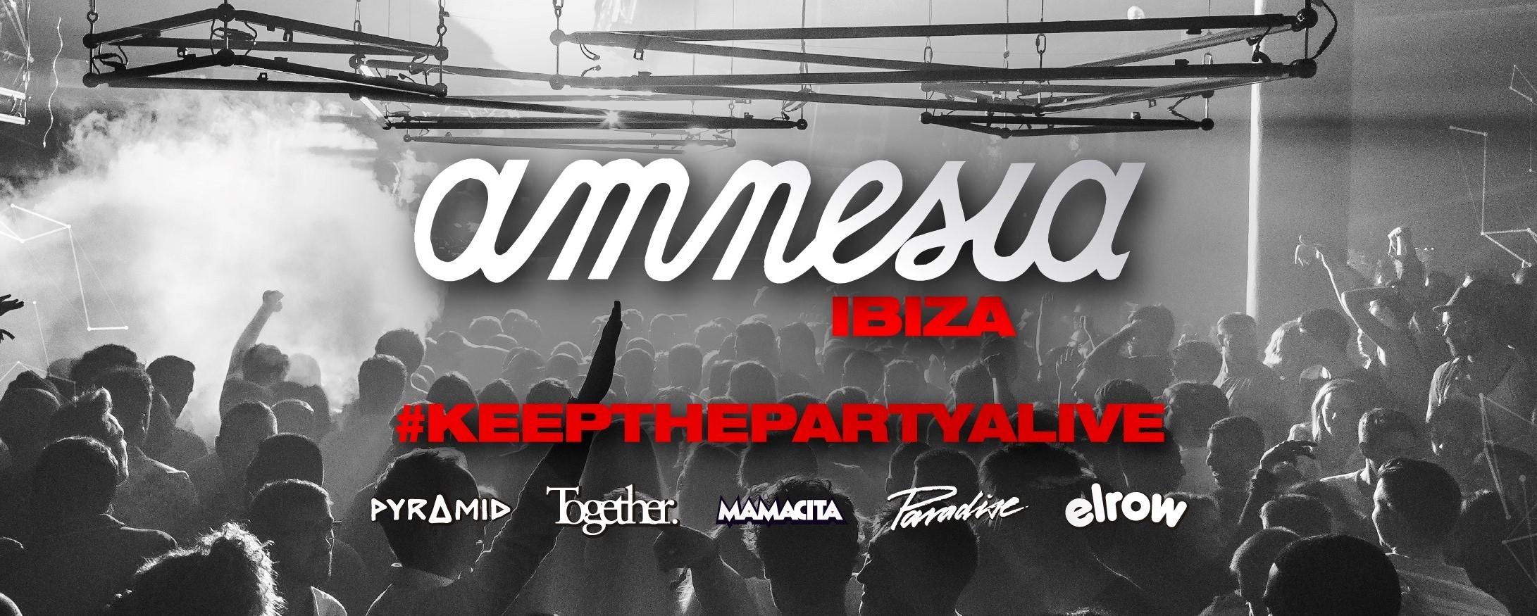 Amnesia lanza una campaña para mantener viva la fiesta en Ibiza