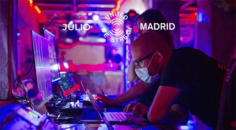 United We Stream Madrid desvela su programación para julio