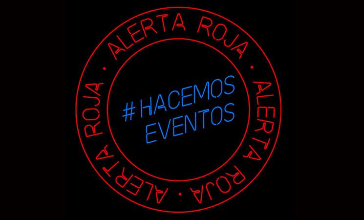 #AlertaRoja sale a la calle para reivindicar el sector del espectáculo