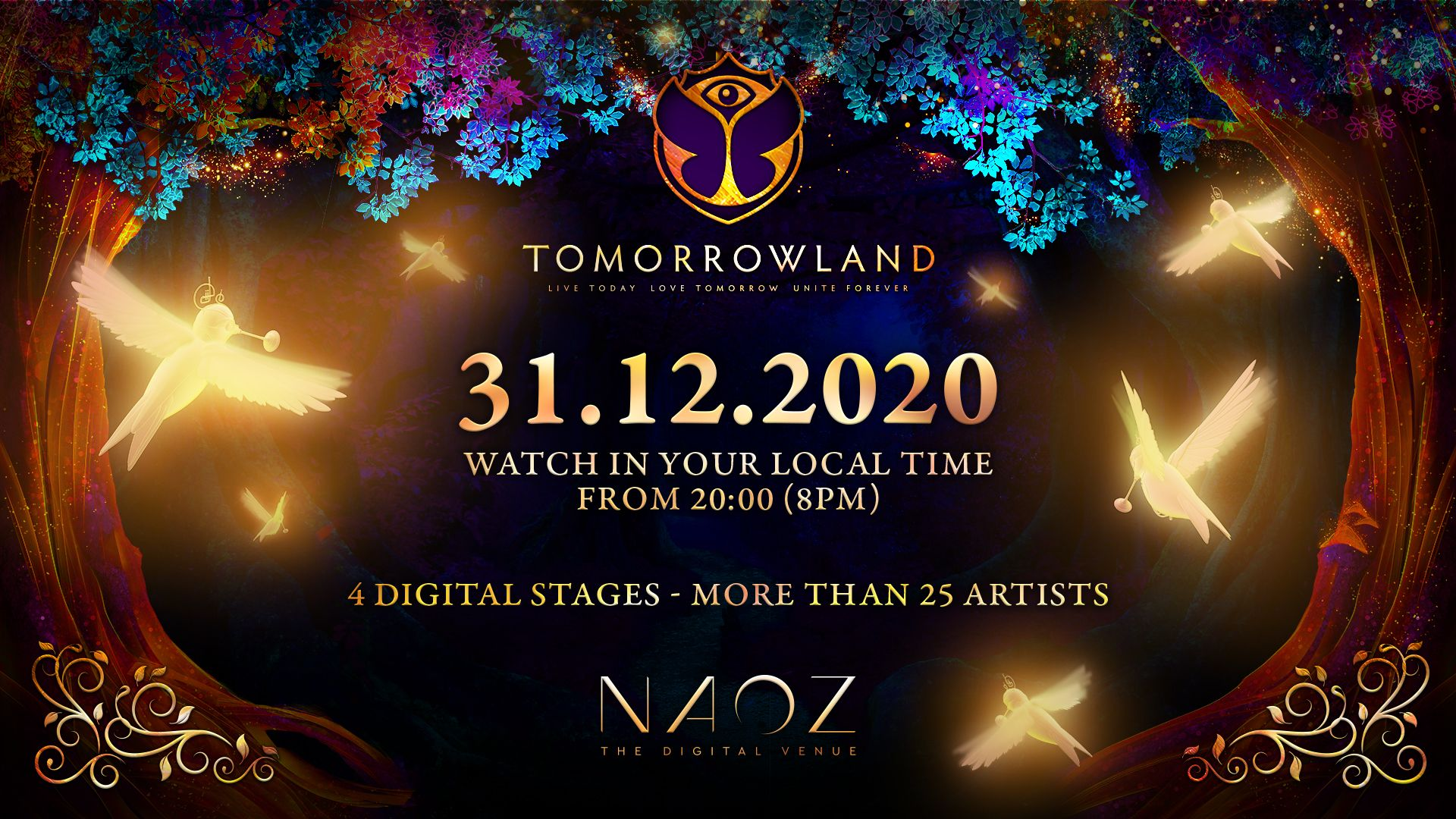 Tomorrowland nos regala un nuevo festival virtual por nochevieja