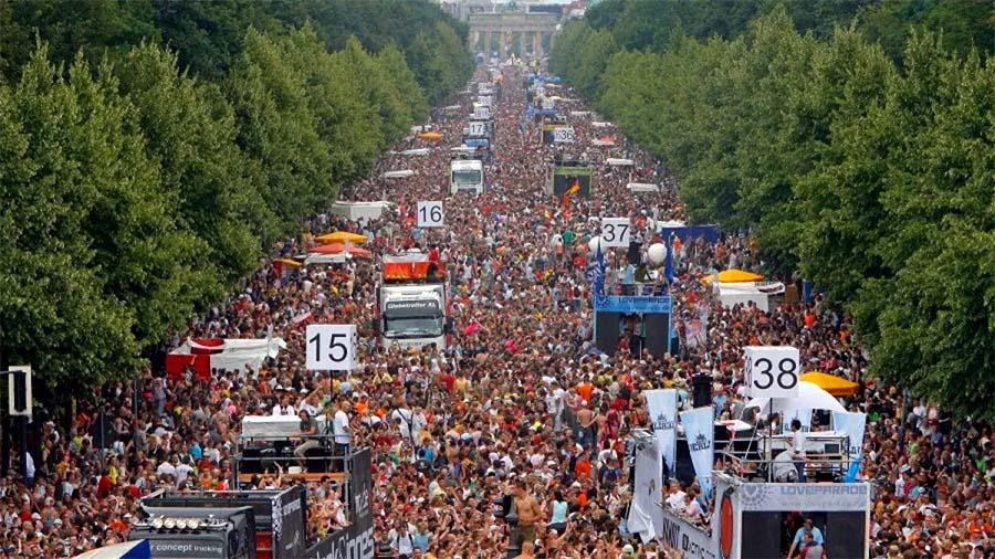 ¿Sabías qué... Berlín celebrará una nueva Love Parade en 2022? Rave The Planet!