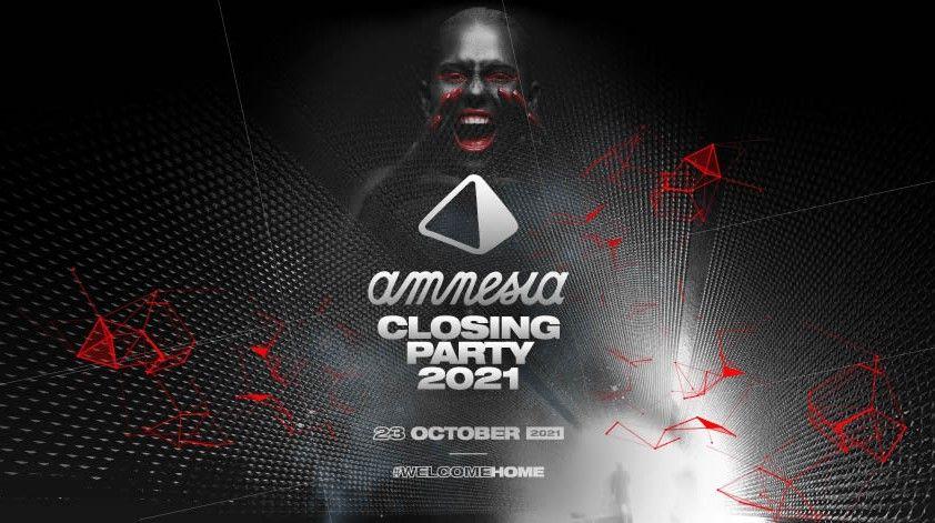 Amnesia Ibiza anuncia la fecha de su Closing Party 2021