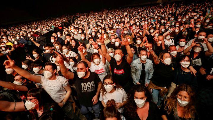 El concierto del Palau Sant Jordi no tuvo impacto de transmisión de Covid-19