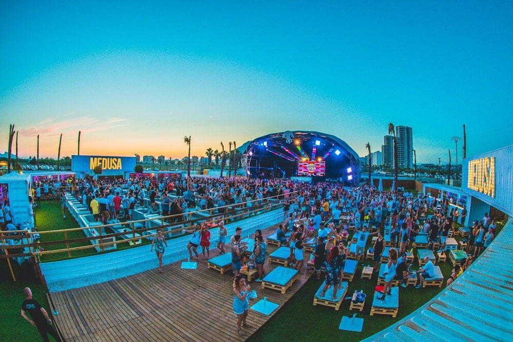 Medusa Beach Club anuncia su reapertura y programación