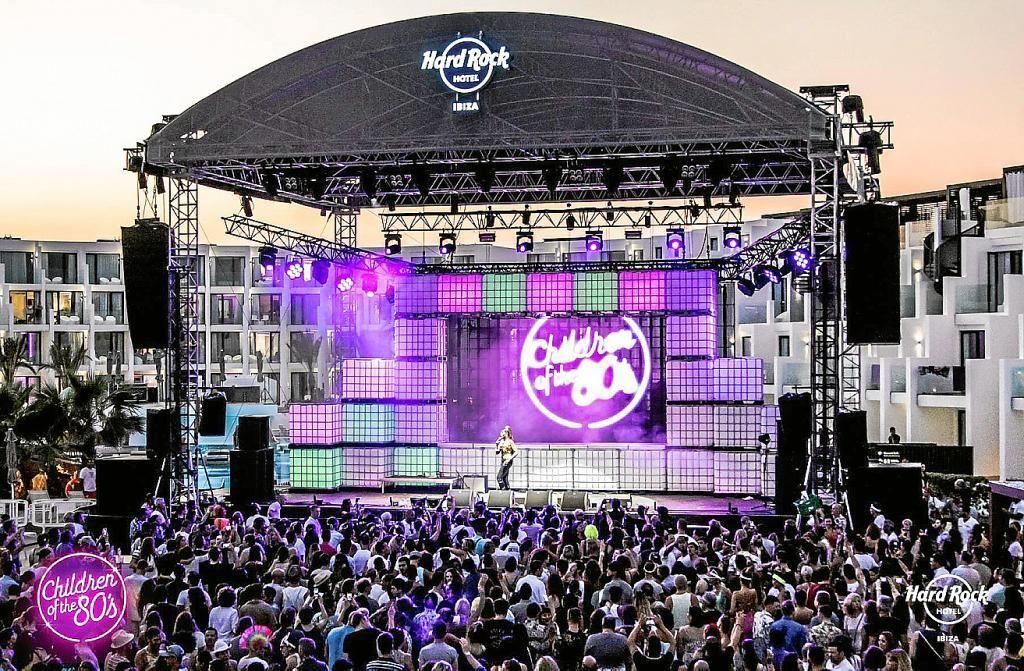 La fiesta Children of the 80's en el Hard Rock Hotel será la prueba piloto de Ibiza