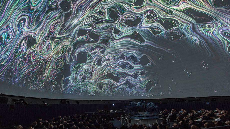 Electrónica experimental y audiovisual en el Planetario de Madrid