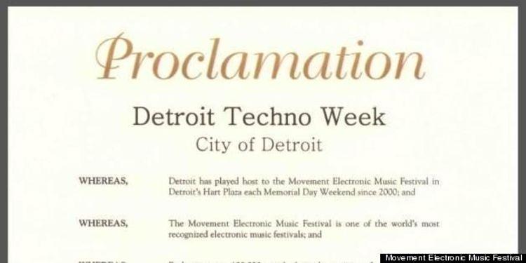 Reconocimiento para los padres del Techno en Detroit